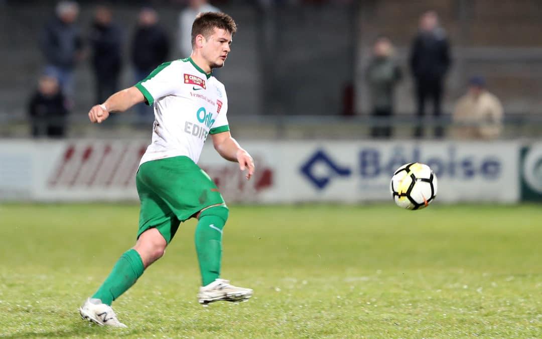 Florian Gudit ne portera plus le maillot de la « une »