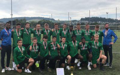 Nos juniors B sont vice-champions Suisse !