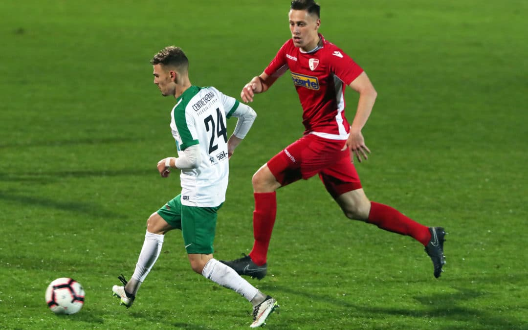 Les réactions de Luca Gazzetta après la victoire face au FC Sion II