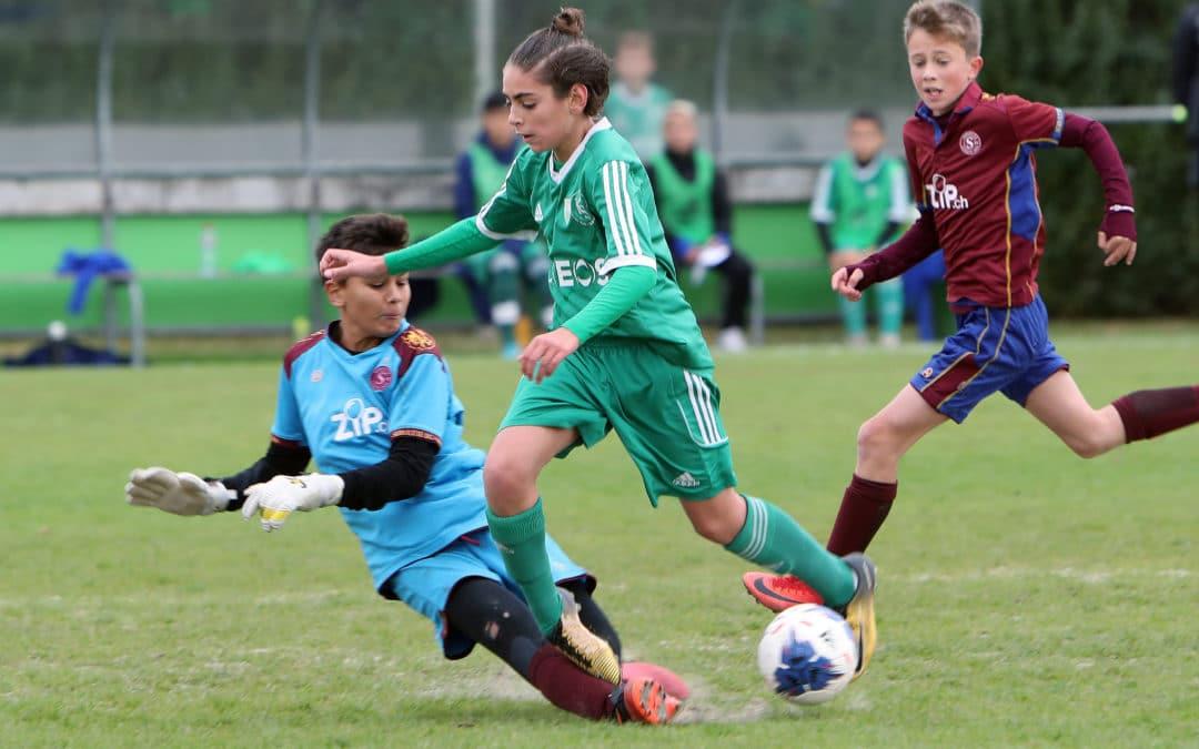 """Malgré la défaite, nos juniors de """"FootEco"""" ont fait bonne figure face à Servette !"""