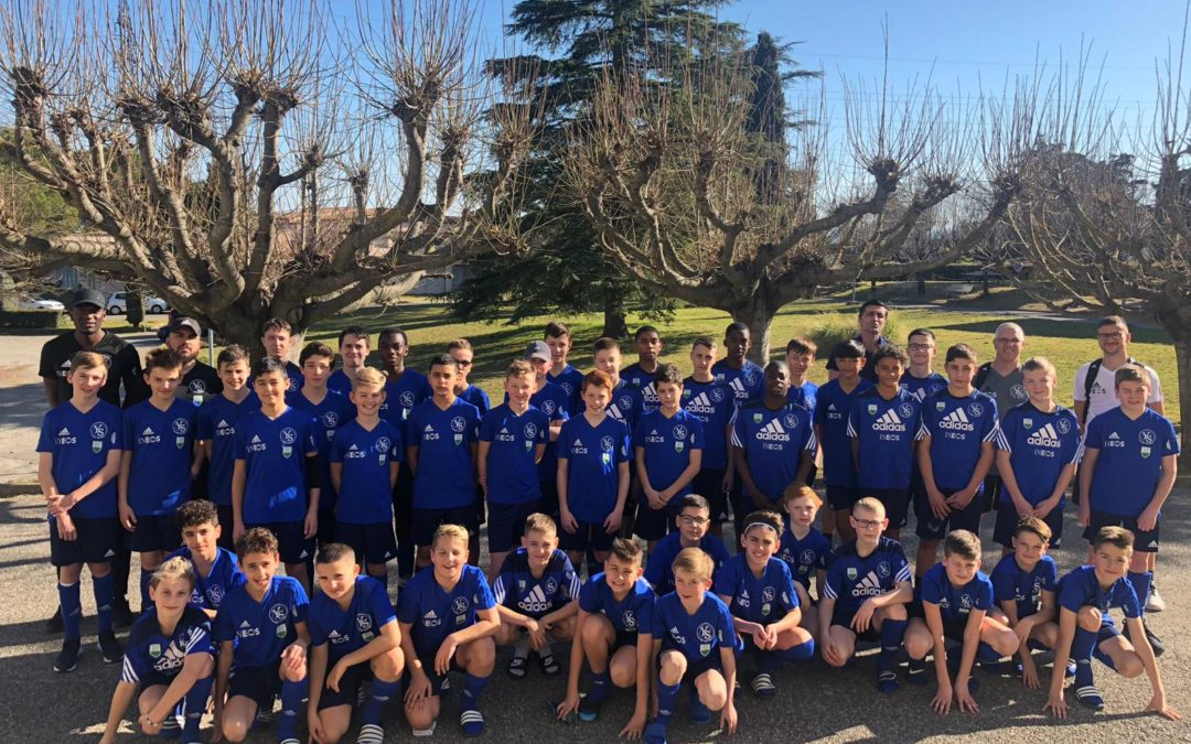Retour sur le camp des juniors à Manosque
