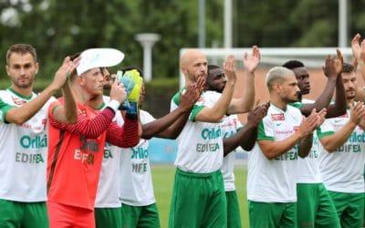 YS a joué deux matchs contre le SC Brühl