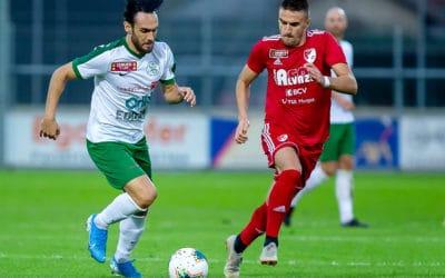 Quelques clichés du match YS – FC Bavois