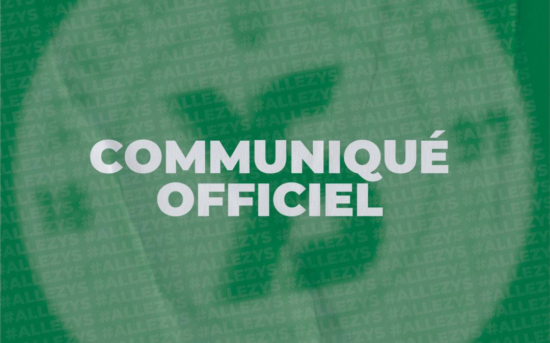 OFFICIEL : THOUNE-YS REFIXÉ AU 3 AOÛT